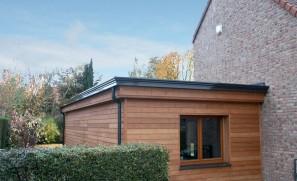 Extension bois ossature de 50 m2 à Wattignies