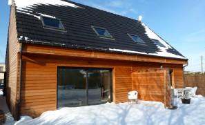 Logements de 80 m2 en ossature bois à Carvin