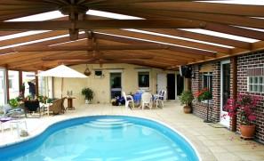 Couverture de piscine à Beuvry les Béthunes (72 m2)