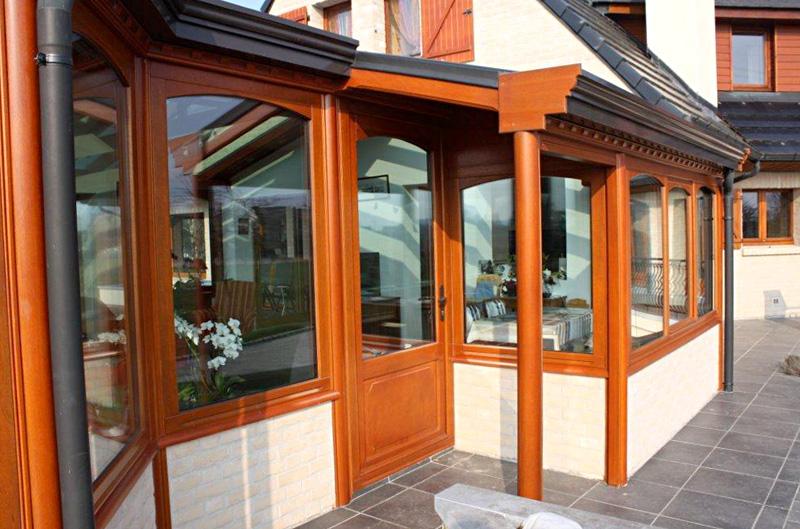 façade extension bois Tahon à Coutiches