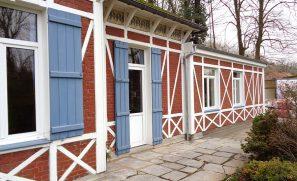 Extension à colombages 32 m2 (suite parentale) à Phalempin