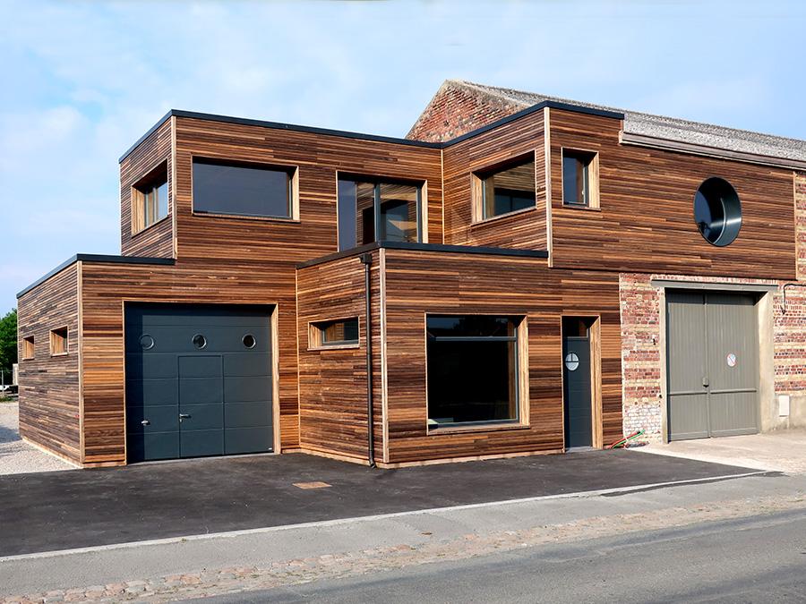 extension bois à Carvin